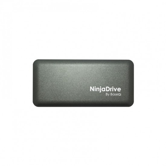 BaseQi NinjaDrive TB3 draagbare SSD for MacBooks