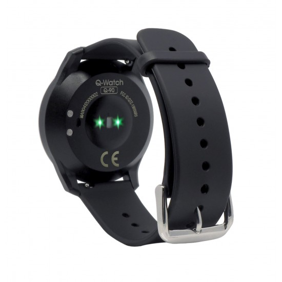 Q-Watch Q-90 Fitnesstracker Remote Care - SOS - works with Strava
