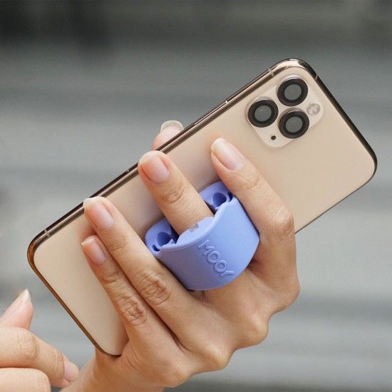 Mooy PickPod Earphone Holder Dusk Blue