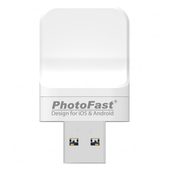 PhotoFast PhotoCube Pro auto-backup-N-charge for iOS Android