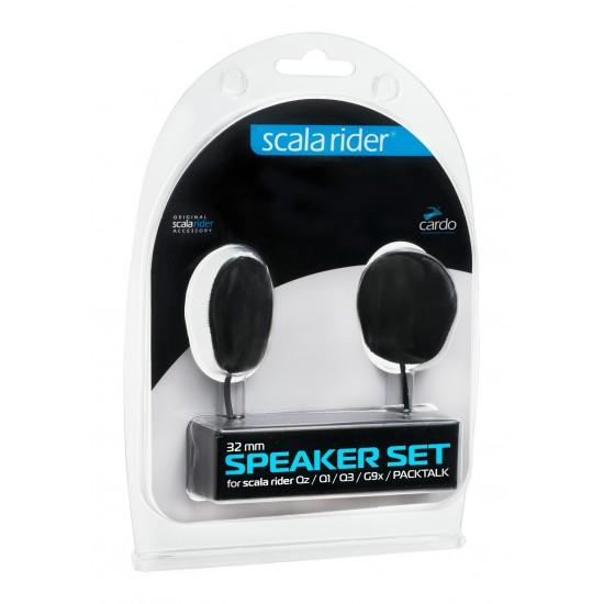 cardo scala rider 32mm Speakers - scala rider Qz / Q1 / Q3 / G9x / PACKTALK / SMARTPACK