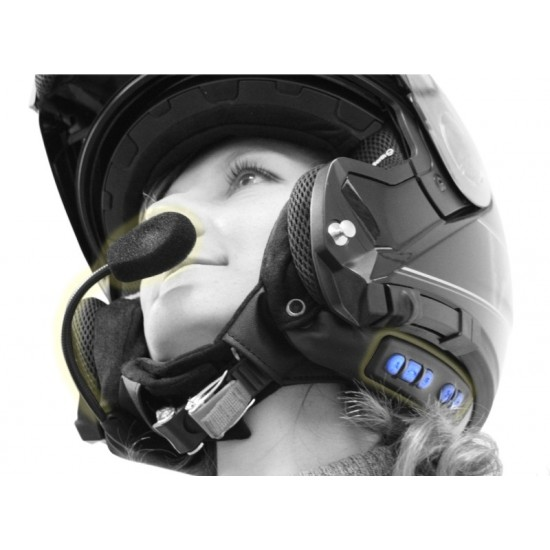 Schuberth SRC communication system SRCS Pro (previously C-3 PRO) - powered by cardo