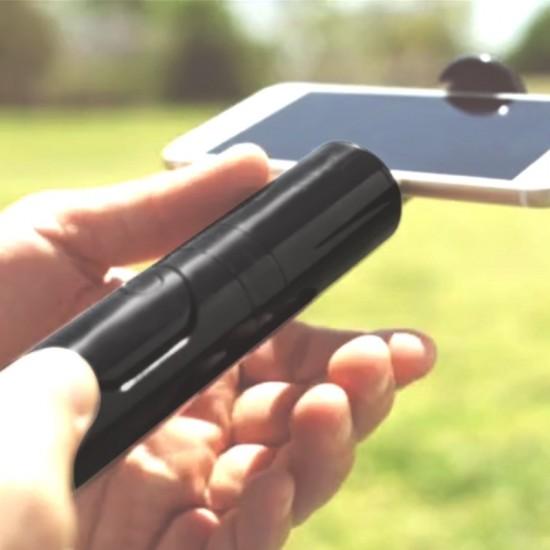 CliquefieMax Selfie Stick seperate bluetooth remote Tripod