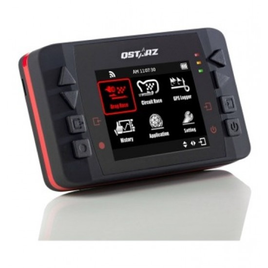 Qstarz LT-Q6000 GPS Laptimer Color Display - 10 Hz Stand Alone Laptiming Recorder