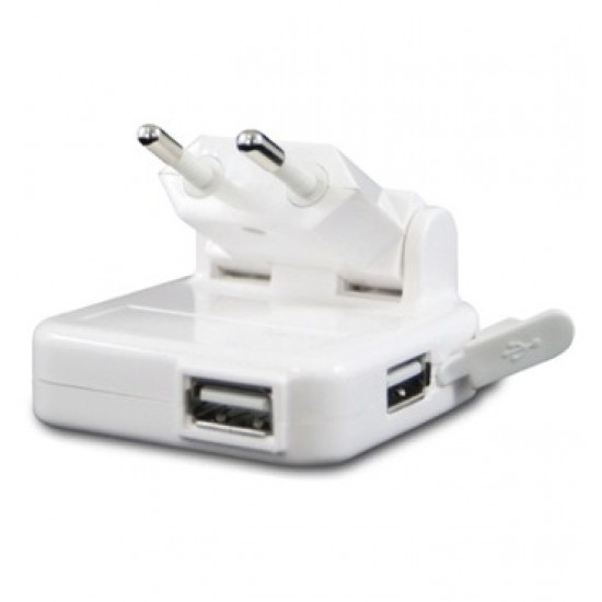 innoXplore iX-C32 Universal Dual Port USB EU Power Charger