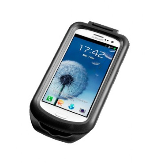 Interphone Samsung  Galaxy S3 holder for tubular Motorcycle Handlebars
