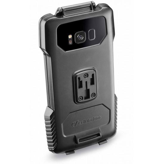 Interphone SMGALAXYS8PLUS holder for tubular Motorcycle Handlebars