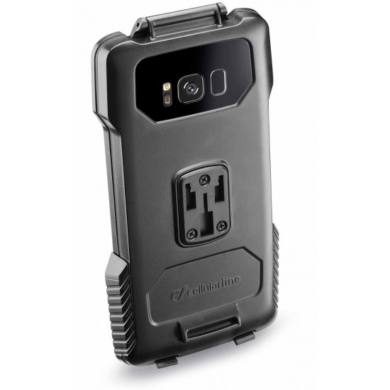 Interphone SMGALAXYS8 holder for tubular Motorcycle Handlebars