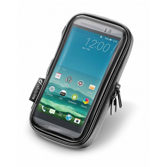 Interphone Unicase Smartphone Holder 45-52-65 for Bike and Motorcycle Handlebars