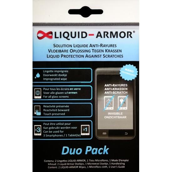 Liquid Armor Nano-coating Tech Screen Protector (Disposable Single / Duo Pack)