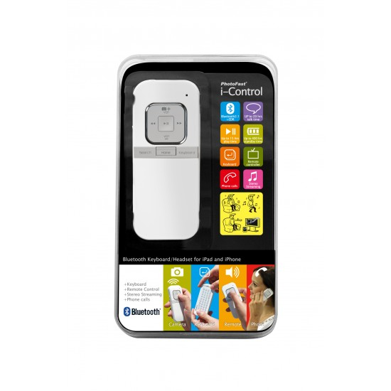 Photofast i-Control Bluetooth Remote and Keyboard for iOS