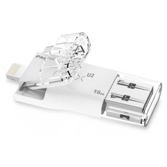 Photofast i-FlashDrive MAX U2 Lightning/USB2.0 for iOS & Mac/PC