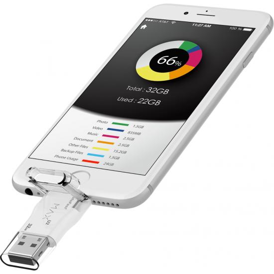 Photofast i-FlashDrive MAX U3 Lightning/USB3.0 for iOS & Mac/PC