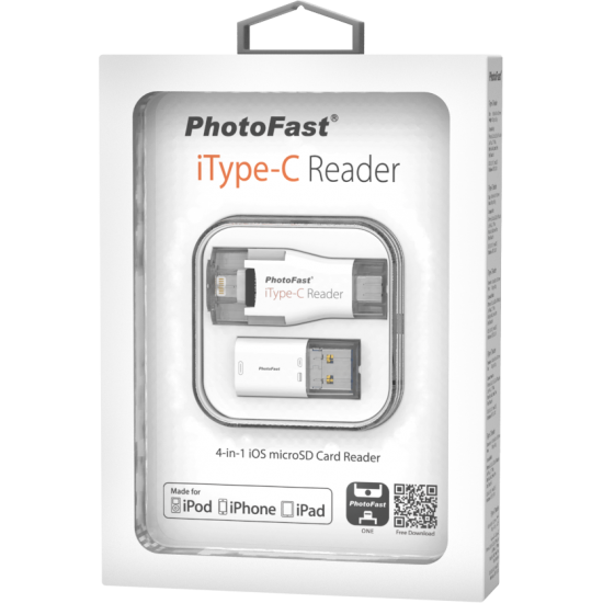 PhotoFast iType-C 4-in-1 microSD Card Reader 4GB
