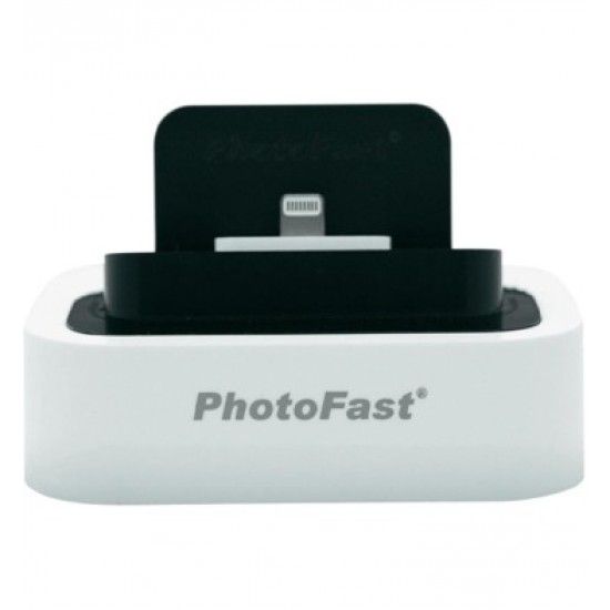 Photofast Lightning Mount Black - White