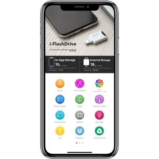PhotoFast iFlashDrive mini iOS microSD Card Reader