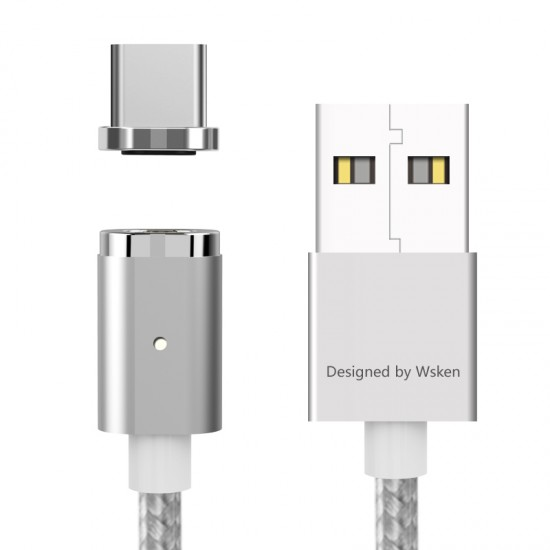 WSKEN X-Cable mini 2 Premium A-Grade Metal Magnetic Cable Type-C