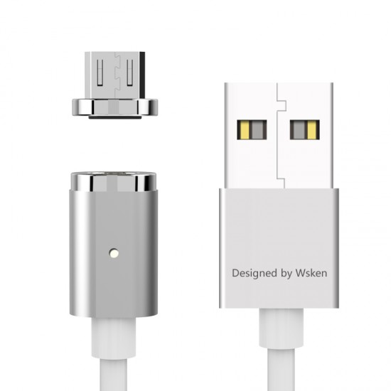 WSKEN X-Cable mini 2 Premium A-Grade Metal Magnetic Cable MicroUSB
